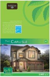 THE CARLISLE - Reid's Heritage Homes