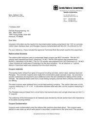 Cellular Bioengineering, Inc. Results from Decontamination Testing ...