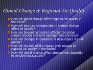 Air Quality modeling - Laboratory for Atmospheric Research