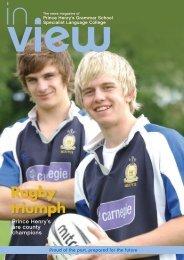 July 2008 - Prince Henrys Grammar School