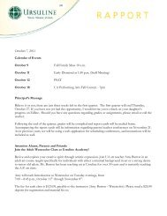 October 7, 2011 Calendar of Events October 9 Fall Family Mass 10 ...