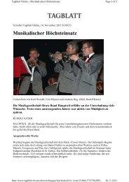 Unterhaltung - mgbbh.ch