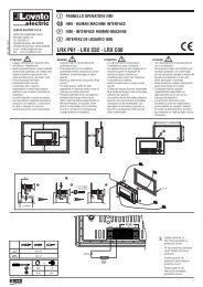 I322IGBFE05_11_pannello operatore HMI - Lovato Electric GMBH