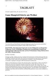 Pressebericht - mgbbh.ch