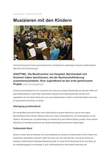 Pressebericht Jugendmusik - mgbbh.ch