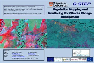 Vegetation Mapping and Monitoring for Climate Change Management