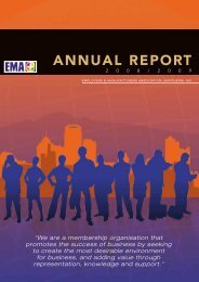 EMA Annual Report 2008/2009