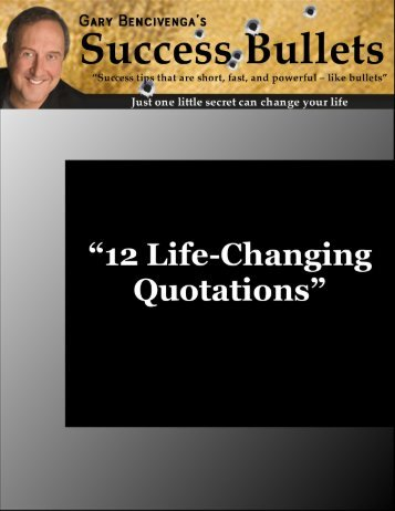 12 Life Chaning Quotations Free Download