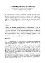 coordination convention PUX - EconomiX