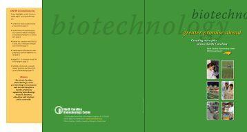 2009 - North Carolina Biotechnology Center