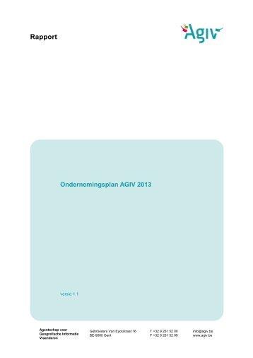 Agentschap voor Geografische Informatie Vlaanderen - Bestuurszaken