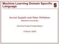 K-Means Clustering - Stanford PPL - Stanford University