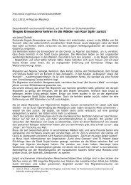Illegale Einwanderer kehren in die Wälder von Ksar Sghir zurück