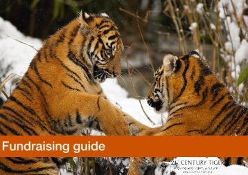 Fundraising Guide - 21st Century Tiger
