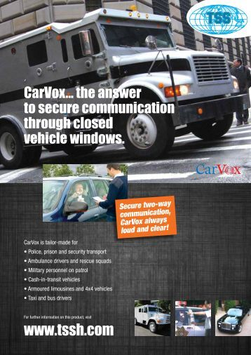 CarVox - TSS International BV