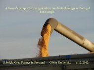 A farmer's perspective on agriculture and biotechnology in ... - VIB