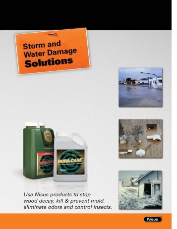 Storm and Water Damage - Nisus Corporation