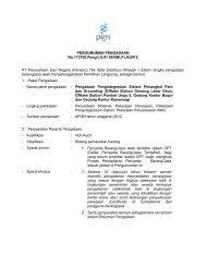 PENGUMUM No.173700 PT Perusahaan Gas Negara ... - PGN