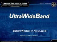 SisWir.4a - UltraWideBand (PDF) - lenst - Università degli Studi di ...