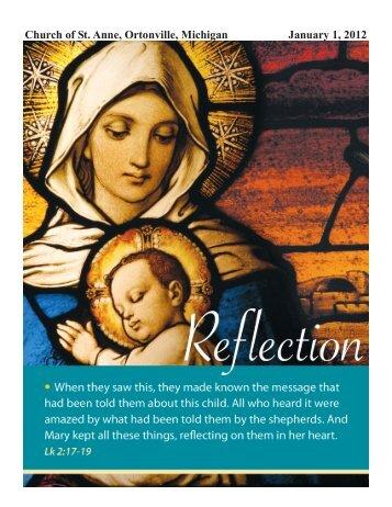 January 1, 2012 - St. Anne Catholic Church