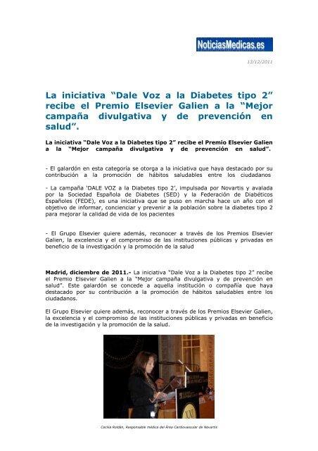 promoción de la salud diabetes tipo 2
