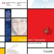Partenariat technologique Canada - UQAC