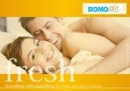 www .domo.at Kontrollierte Wohnraumlüftung: Produkte ... - DOMOair