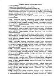 Ziņojums par lēmuma pieņemšanu - Valsts policija