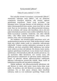 1918 03 31 Synnymmekö jälleen - Pekka Ervast