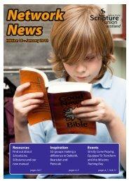 Network News, January 2012 - PDF - Scripture Union Scotland