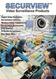 Video Surveillance Catalogue Contents -  RhinoCo Technology