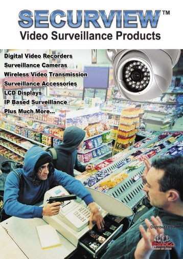 Video Surveillance Catalogue Contents -  RhinoCo Technology