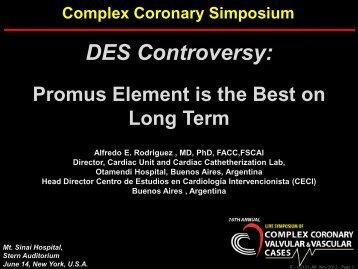 DES Controversy: - Centro CECI