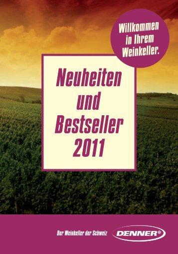Neuheiten und Bestseller 2011 - Denner Wineshop.ch