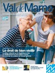 ValdeMarne n°277 / Mars 2011 - Conseil général du Val-de-Marne