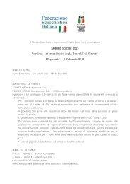 SANREMO SCACCHI 2013 Festival internazionale degli ... - VeSuS!!!