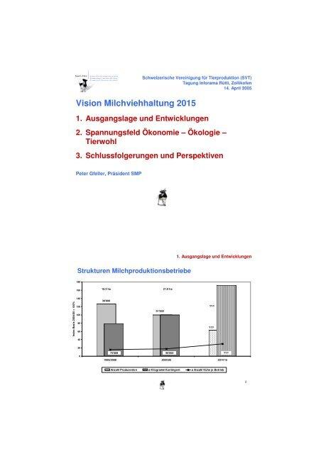 Vision Milchviehhaltung 2015 - svt-asp.ch