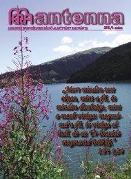 2010 4. szám - Magyar Evangéliumi Rádió