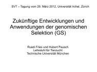 Zukünftige Entwicklungen und Anwendungen der GS ... - svt-asp.ch
