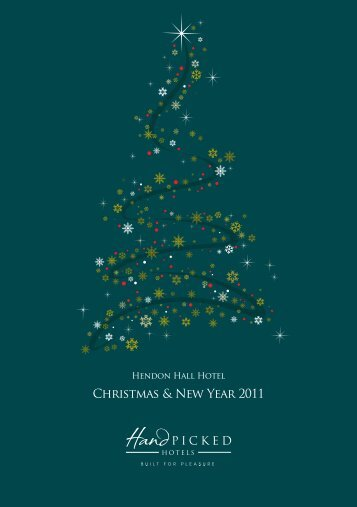Christmas & New Year 2011 - Hand Picked Hotels