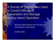A Survey of Techniques Used to Control Microgrid Generation and ...