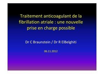 Corinne Braunstein Rachid El Belghiti