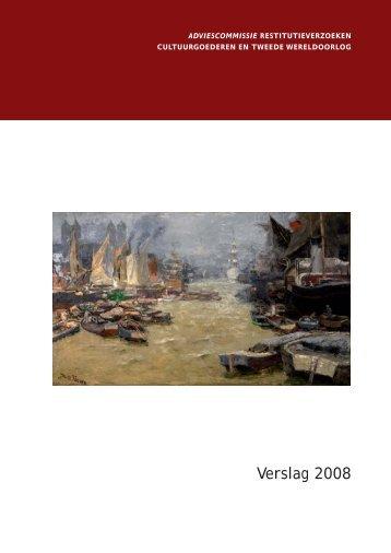 Verslag 2008 - Restitutiecommissie