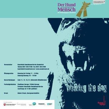 walking the dog - Rudolf Reiber
