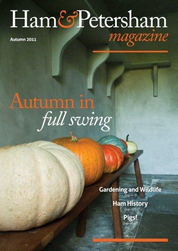 Autumn 2011 - Arcadian Times