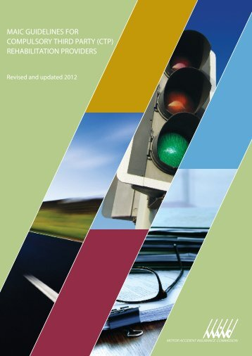 MAIC guidelines for Compulsory Third Party (CTP) - Motor Accident ...