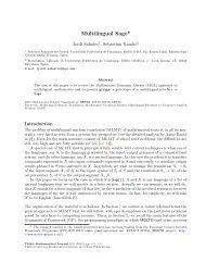 Multilingual Sage* - Departament de Matemàtica Aplicada II - UPC
