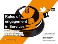 Rules of engagement in Services - InSites Consulting