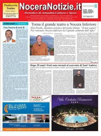 Torna il grande teatro a Nocera Inferiore - NoceraNotizie.it