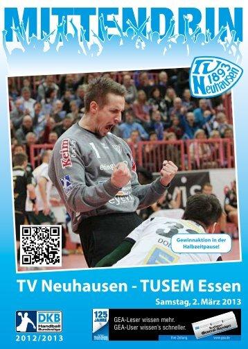 TV Neuhausen -TUSEM Essen - TV 1893 Neuhausen